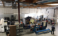 Precision Fluid Controls machine shop