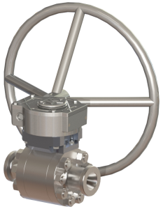 "Model 8030 1-1/2"" Floating Ball Valve"